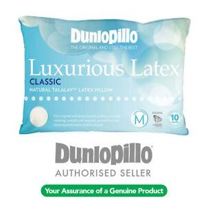 DUNLOPILLO Luxurious Talalay Latex Classic Medium Profile & Feel Pillow RRP $159