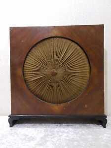 Art Deco Design Lautsprecher Holzgehäuse - Vintage um 1930/40