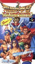 Fist of the Flying Dragon S Golden Fighter Nintendo SNES Japan Version