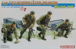 Dragon DML 1:35 WWII German 1st Fallschirmjager Div Holland 1940 Gen2 #6276U