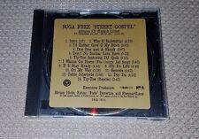 RARE Suga Free - Street Gospel Advance CD Explicit DJ Quik Hi-C 1997 Hip-Hop Rap