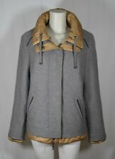 ELENA MIRO Caban Piumino DONNA 41 (48-50) Giaccone LANA Grigio WOMEN Grey Jacket