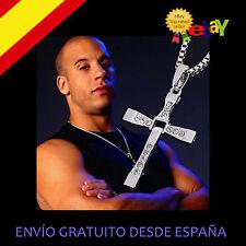 Collar cruz The Fast and the Furious  Vin diesel Toretto Stock España