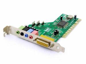 Hercules 458 5059826 PCI Gamesurround Muse Lt Sound Card Audio Board MPB-000153