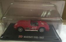 """DIE CAST 1000 MIGLIA """" MASERATI 150S - 1957 """" + BOX 2 SCALA 1/43"""