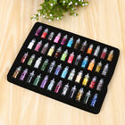 Nail Art 48 Colors Glitter Decoration Tips UV Acrylic System Set Glass Bottled