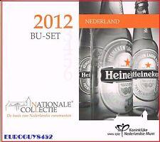 NEDERLAND - BU SET 2012 - ONDERNEMERSCHAP IN NEDERLAND - 9 MUNTEN