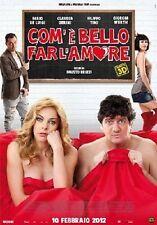 Dvd COM'E' BELLO FAR L'AMORE (2D+3D) (2 Dischi) .....NUOVO