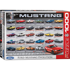 Eurographics Ford Mustang Evolution Puzzle 1000pc 60684