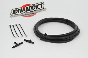 Boost Gauge Fitting Kit 2m Silicone Hose Nissan Toyota Mazda VW Audi Ford Turbo