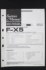 Pioneer F-X5 Tuner Manuel de Service / Circuit Descriptions Réparation &