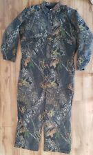 Mossy Oak Field Staff Camo Insulated Coveralls Size 3XL Hunting