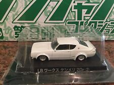 AOSHIMA Grachan Skyline GT-R 2 Door in White - 1:64 scale