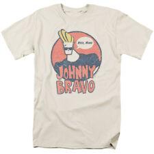 Johnny Bravo Wants Me T Shirt Mens Licensed Cartoon Merchandise Whoa Mama! Cream