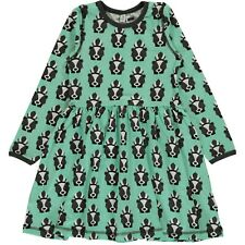 *NEW* MAXOMORRA Skunk spin dress - organic - size 9-10y