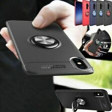 For Samsung Galaxy S10 S9 S8 S7+ Shockproof Phone Cases Cover with Ring Holder