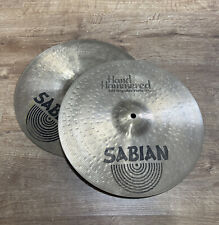 More details for sabian hand hammered regular hi hats hi hat cymbals #586