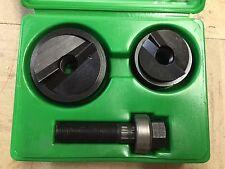 New Greenlee 7237BB Slugbuster Knockout Punch Set NOS