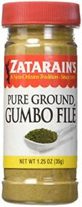Zatarain's Pure Ground Gumbo File 1.25 oz