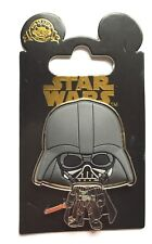 Disney Pin Badge HKDL - Star Wars Big Head Series - Darth Vader