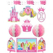 Disney Princess 1st Birthday Princess Party/Room Decorating Kit- 10 pcs