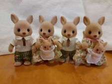 Calico Critters Hopper Kangaroo Family lot Moms, Dads and infants