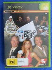 Xbox Original - World Poker Tour - Good Condition Including Manual