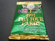 1991 Pro Set PGA Tour Cards - 3 paquets de cartes - 12 cartes par paquet