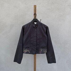 Vintage Dries Van Noten Cotton and Linen Blend Lightweight Jacket Women's FR 38