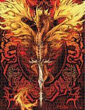 Jigsaw Puzzle Fantasy Mythology Dragonblade Flameblade 500 pieces NEW