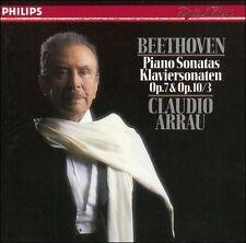 Beethoven: Piano Sonatas Op. 7 & Op. 10/3 (CD, Philips)