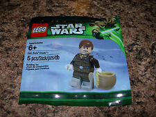 SEALED LEGO Star Wars Minifigure HAN SOLO (HOTH) 5001621 6043748 Exclusive mini