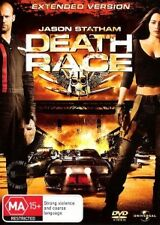 Death Race Extended Version Jason Statham (region 4 Dvd)