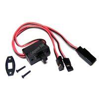 Futaba JR Hitec universal switch harness, 3 lead, UK seller