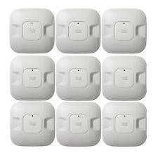 Lot of 9x - Lot Cisco Aironet AIR-LAP1041N-A-K9 Wifi AP 802.11g/n 54Mbps POE