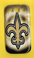 NEW ORLEANS SAINTS 1 Piece Glossy Case / Cover Samsung GALAXY S3 SIII (Design 2)