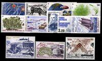Franz. Gebiete i. d. Antarktis, MiNr. 220-231, Jahrgang 1987, postfrisch / MNH -
