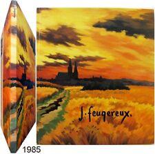 Jean Feugereux 1985 exposition Chartres peinture gravure Beauce Paul Vialar etc
