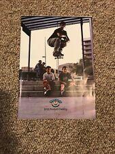 Rare Monkey Business Catalog Poster Pj Ladd Prod Paul Rodriguez Skateboarding