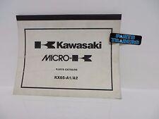 NOS Kawasaki Micro-K Parts Catalog KX65 KX 65 2000 00 2001 01