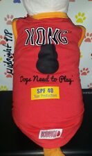 "New listing Kong ""Dog Need To Play"" Guardian Gear Spf 40 Sun Protection Dog Tank. Small"
