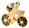 Tour de France Rainbow Jersey Reigning World Champion Pin Badge