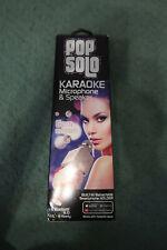 Tzumi 7072My PopSolo Bluetooth Karaoke Microphone and Speaker Gem Edition New