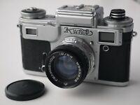 KIEV 4M Russian Contax Copy 35mm Camera Helios 103 Lens