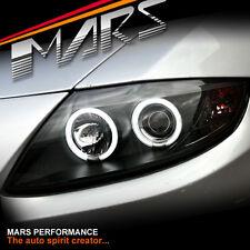 Black CCFL Angel-Eyes Projector Head lights for BMW Z4 E85 E86 (HALOGEN MODEL)