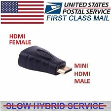 Mini HDMI Type C Male to HDMI Type A Female Adapter cable Connector 1080P HDTV