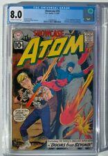 Showcase #35 CGC 8.0 - 2nd App Silver Age Atom DC Comics 1961
