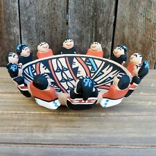 Native American Pottery-Jemez Pueblo Pottery-Large Friendship Bowl-Tim Tosa