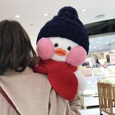 cafe mimi lalafanfan Winter Stuffed Big Plush 21' Doll Duck Blush Bubble Cap
