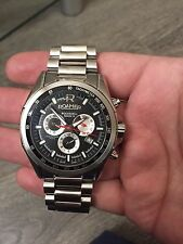 Men's Roamer Rockshell Chronograph Black Dial Watch 220837